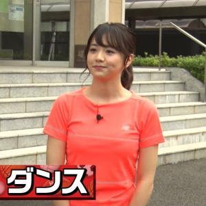 【画像】スポさまで森香澄アナがデカ乳を揺らしてヒップホップダンスwww(GIFあり)