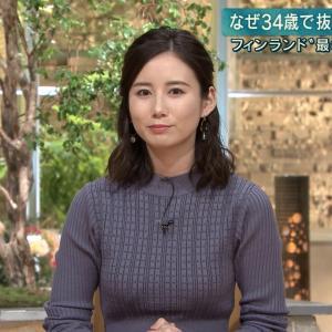 【画像】テレ朝・森川夕貴アナのデカ乳がエロ過ぎるwwwww