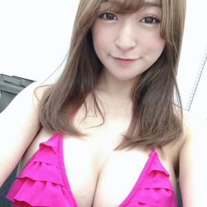 【画像】お嫁さんにしたいNo.1のGカップ巨乳グラドル☆HOSHINOが水着姿で登場!