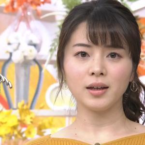 【画像】TBS皆川玲奈アナの乳の主張が最近すごいなwww