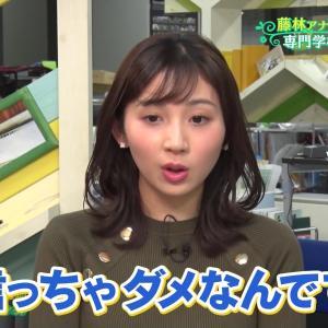【画像】可愛すぎる新人アナ野嶋紗己子さんのニットおっぱいwwwww