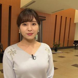 【GIF有】WBSで角谷暁子アナの豊満な乳がたまらんwww(画像・動画あり)