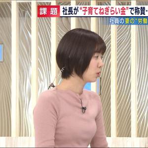 【とくダネ!】ヤマサキパンのおっぱいがクッキリ!