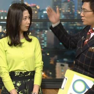 【画像】NHK桑子真帆アナの上向きおっぱいエッチ過ぎると話題に