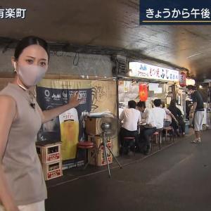 【画像】報ステの森葉子アナのおっぱい、ケツがエロいと話題に ※GIFあり