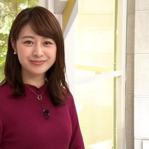 【画像】テレビ朝日の林美沙希アナのおっぱいの形がクッキリ