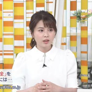 【画像】TBS皆川玲奈アナのケツでっけえええええええええ