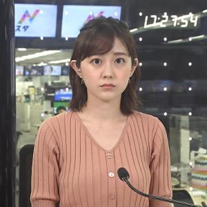 【画像】TBS若林有子アナのニットおっぱいが話題のようだ ※GIFあり