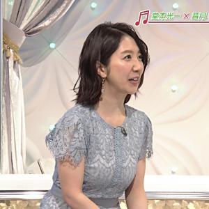 【画像】NHK保里小百合アナのふくよかな乳がたまらん