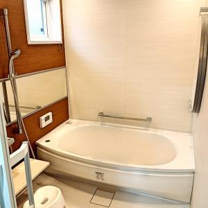 **お風呂の大掃除**