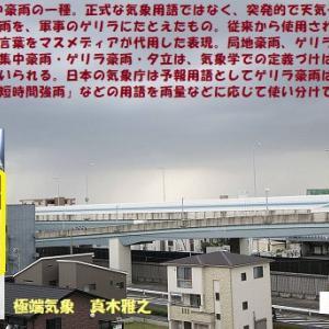 """極端気象""""ゲリラ豪雨""""_知の学究達=228=/ 真木雅之(06/mn)"""
