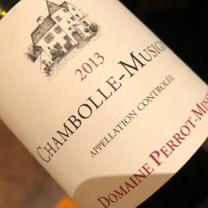 Chambolle Musigny 2013 (Perrot Minot)