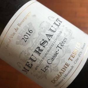 Meursault Casse de Tete 2016 (Tessier)