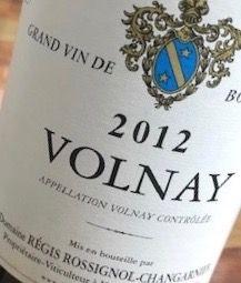 Volnay 2012 (R. Rossignol-Changanier)
