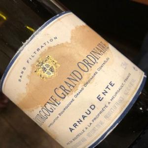 Bourgogne Grand Ordinaire 2001 (A. Ente)