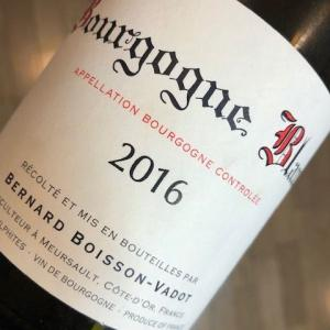 Bourgogne Blanc 2016 (B. Boisson-Vadot)