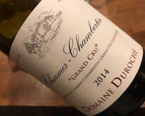 Charmes Chambertin 2014 (Duroche)