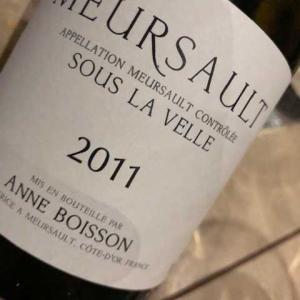 Meursault Sous la Velle 2011 (Anne Boisson)