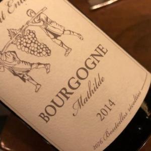 Bourgogne Cuvee Mathilde 2014 (B. Ente)
