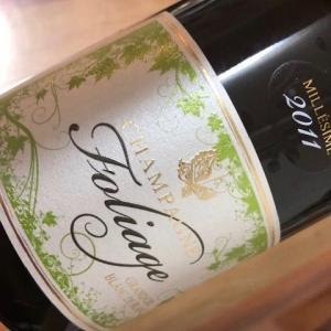 Champagne 2011 Blanc de Blanc (Foliage)