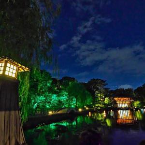 徳川園の夕涼み
