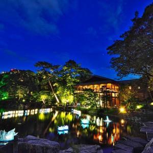 徳川園の夕涼み ①