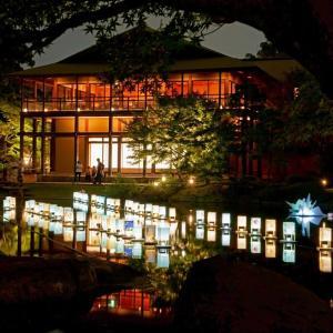徳川園の夕涼み ②
