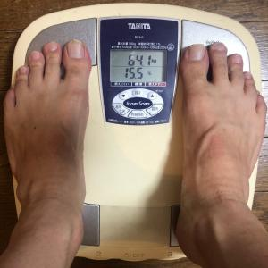 あと2日 目標は63kg