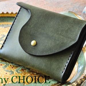 イタリアンレザー・プエブロ・ミニマム財布・時を刻む革小物