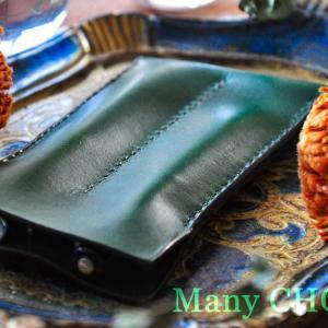 イタリアンレザー・ブッテーロ・2本差しペンケース・時を刻む革小物