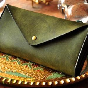 イタリアンレザー・プエブロ・長財布2・時を刻む革小物Many CHOICE