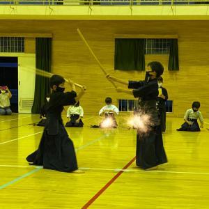 木刀による剣道基本技稽古法による月例杯を行いました