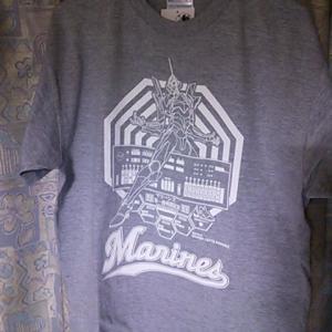 ヱヴァxマリーンズコラボTシャツ買ったった件