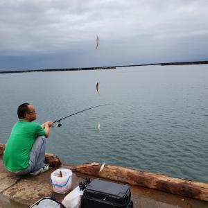 釣りはしばらくお休み?