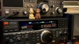 LOG: Vatican Radio via Santa Maria di Galeria - 9705kHz 2029UTC