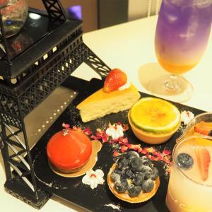 イルミネーションを特等席で見ながらティータイム「de rêve cafe」@板橋MegaCity