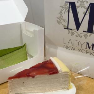 ニューヨーカーも虜にした極上ミルクレープ「Lady M」!やっぱりおいしい♡ @遠百信義