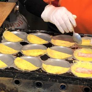 誕生日プレゼントは大好物の卵餃子?!南門市場のおいしい蛋餃 @中正紀念堂