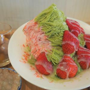寒くても食べたい!絶品ひらひらかき氷「MR.雪腐」@公館 / 永安市場