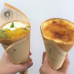 文青風格!日本式クレープ専門店「錐子日式可麗餅咖啡專賣 ドリンコ」@東門