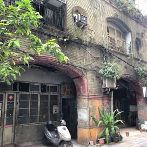 日本統治時代から残る公娼館「文萌樓」現在修復工事中