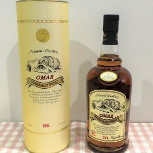 台湾ビールの会社が製造する台湾ウィスキー「OMAR WHISKY(オマ―ウィスキー)」