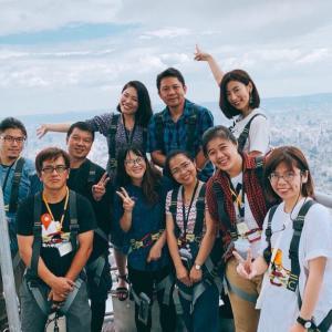 國興衛視「魅力妻 in Taiwan」台北101の101階!「Skyline460」初体験!