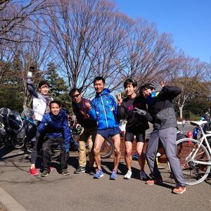 駒沢公園30km走は25.68kmでDNFしたけど