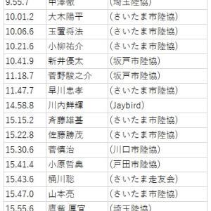 第32回M×Kディスタンス埼玉県市民ランナーの結果