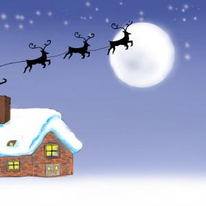 Procreateでクリスマスの絵を!