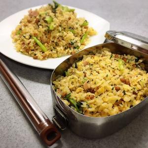 納豆炒飯の日。