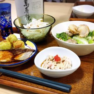 白子ポン酢に日本酒で…サイコー♡