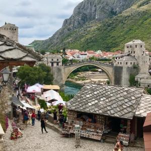 PONTE STARI MOST イタリア政府の寄付金で蘇ったスタリモスト橋 ボスニア
