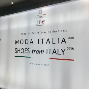 MODA ITALIA 第56回モーダイタリア展示商談会通訳業務 2021年冬物レザー最新情報